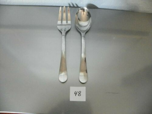 GOURMET SETTINGS  18/C  CELEBRATION   SERVING SPOON,& COLD MEAT FORK