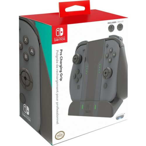 Nintendo Switch Pro Joy-Con Charging Grip - Grey