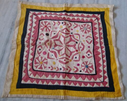 Wall hanging patchwork tapestry handmade old vintage decorative home decor india