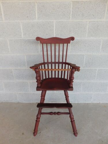 Walter Steely Vintage Windsor Fan Back Childs High Chair