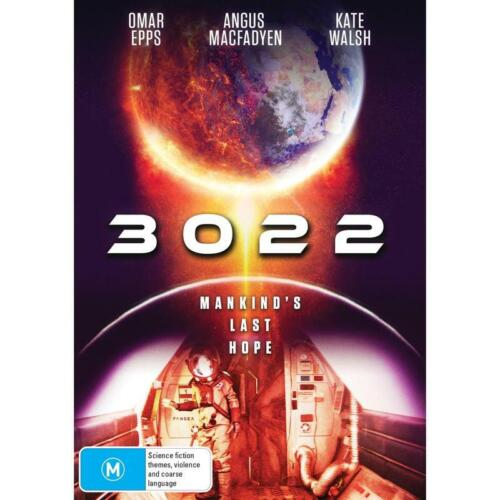 3022 DVD, NEW & SEALED, ** NEW RELEASE ** FREE POST