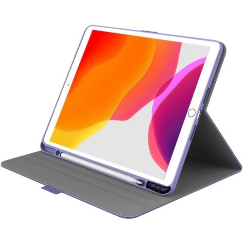 "Cygnett TekView Slimline Case with Apple Pencil Holder for iPad 10.2"" - Lilac"