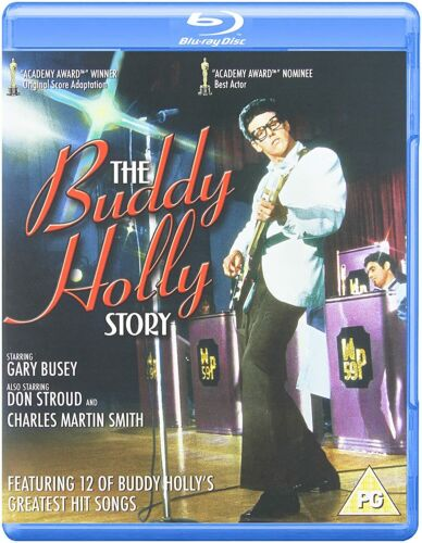 The BUDDY HOLLY STORY (1978) BLU RAY Gary Busey New & Seeled!