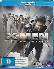 X-MEN THE LAST STAND BLU RAY - 2 DISC SET, HUGH JACKMAN, WOLVERINE FREE POST