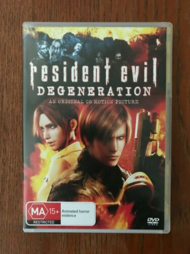 Resident Evil Degeneration DVD Region 4 LIKE NEW
