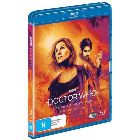 DOCTOR WHO SERIES 12 BLU-RAY, NEW & SEALED, FREE POST
