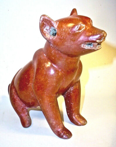 Pre-Columbian COLIMA SEATED DOG EX: SOTHEBY'S '77