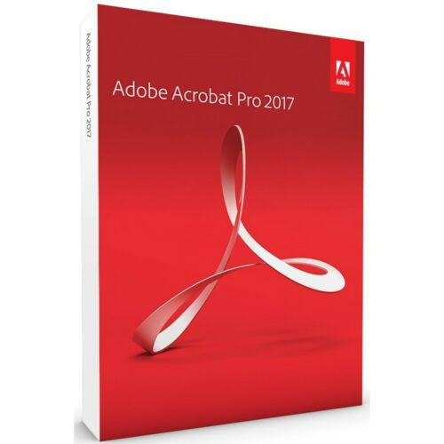 ADOBE ACROBAT PROFESSIONAL 2017 Digital Download WINDOWS 1-USER BRAND NEW