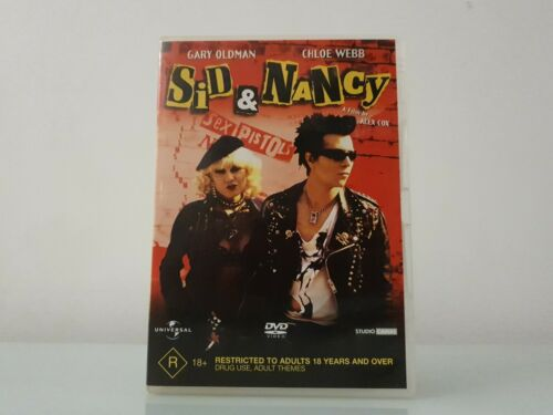 Sid & Nancy (1986) Cult British Music Drama DVD