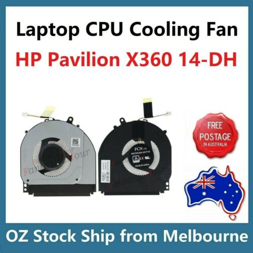 Genuine CPU Cooling Fan for HP X360 14-DH 14M-DH Series TPN-W139 L51102-001