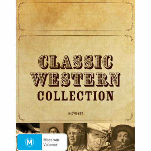 Classic Western Collection (Three Violent People/Santa Fe Stampede/Track of the