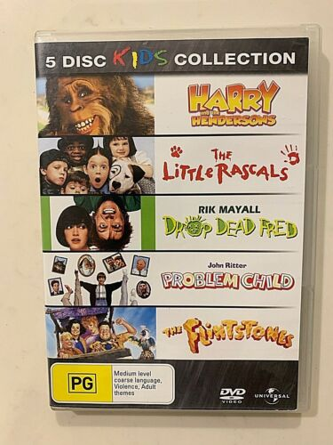 Harry And The Hendersons/The Little Rascals/Drop Dead Fred/ DVD Region-4 5 Disc