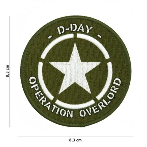 Morale Patch D Day  Operation Overlord USA Normandy WWIIParches - 4725
