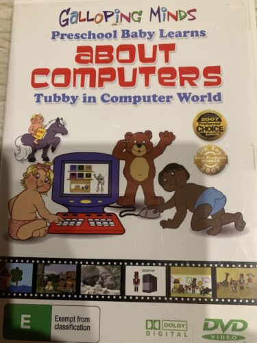 TODDLER / BABY EDUCATIONAL Galloping Minds ABOUT COMPUTERS
