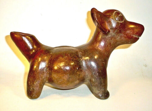 Pre-Columbian COLIMA STANDING DOG EX: SOTHEBY'S '80