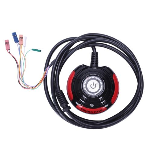 4.9Ft Desktop Computer Case Momentary Power Supply Reset Button Switch N2H7