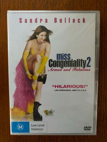 Miss Congeniality 2 - Armed And Fabulous DVD Region 4 New & Sealed