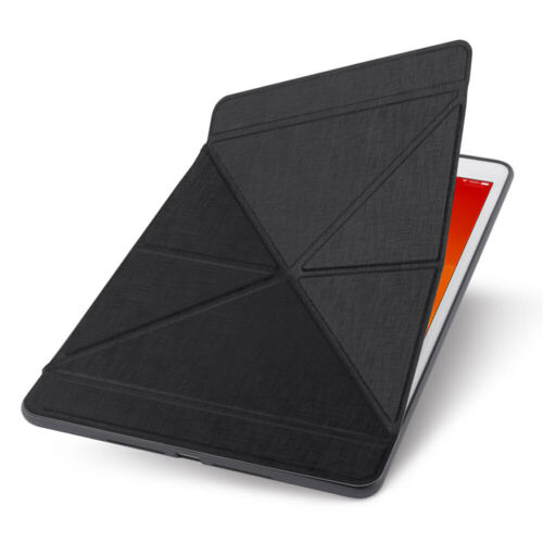 """Moshi VersaCover Case w/ Folding Cover/Stand for Apple iPad 10.2""""/7th Gen Black"""