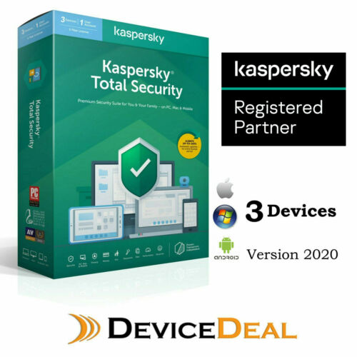 Kaspersky Premium Total Security  3 Device 1 Year License Key New Version
