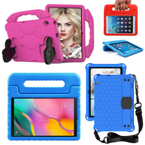 Kids Shockproof Case Handle Stand Tough Cover For Huawei MediaPad T5 10.1 Tablet