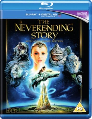 The NEVERENDING STORY 3OTH ANNIVERSARY BLU RAY  RESTORED & SPECIAL FEATURES