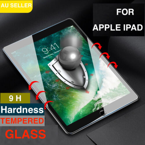 """For Apple iPad 7th 8th Gen 10.2"""" Tempered Glass Screen Protector"""