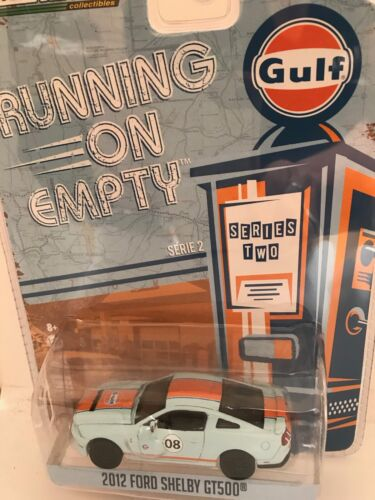 Course Sur Vide 2012 Ford Shelby GT500 Gulf Voiture Miniature 1/64