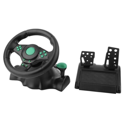 Racing Game Steering Wheel For Xbox 360 Ps2 For Ps3 Computer Usb Car Steeri F7H3