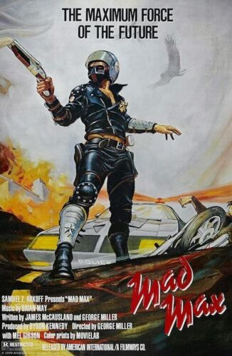 MAD MAX - CLASSIC MOVIE POSTER 24x36 - 54166
