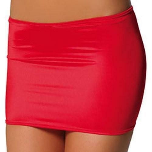 15 COLOURS Sexy Clingy Classic Lycra Mini Skirt - Clubwear Fetishwear Lingerie