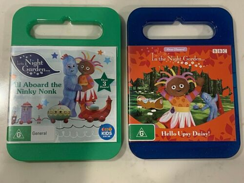IN THE NIGHT GARDEN DVD's  Hello Upsy Daisy! All aboard the Ninky Nonk R4