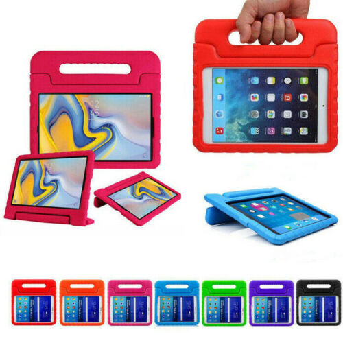Kids Stand Rubber Shockproof Case For Samsung Tab 3 Lite 4 E S S2 S3 S4 S6 A 7 8