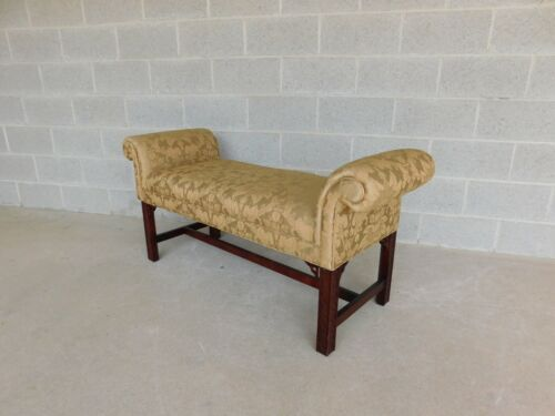Thomasville Chinese Chippendale Style Window Seat - Bench