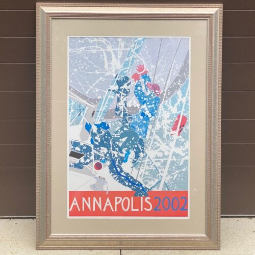 NANCY HAMMOND Annapolis 2002 Signed Limited Framed