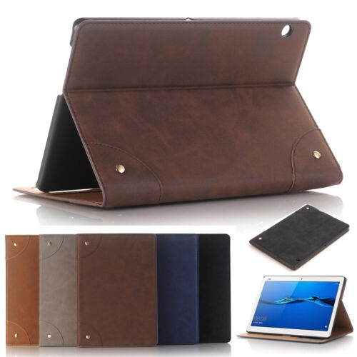 Leather Smart Shockproof Case For Huawei MediaPad M5 8 Pro 10.8 M6 M3 T5 T3 10