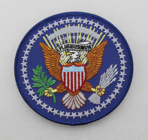 US PRESIDENTIAL SEAL OF THE PRESIDENT EMBROIDERED PATCHReproductions - 156452