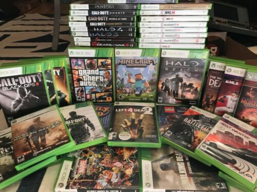 Used Xbox 360 Games, Halo, Call Of Duty, GTA, Minecraft, Madden and Many More!