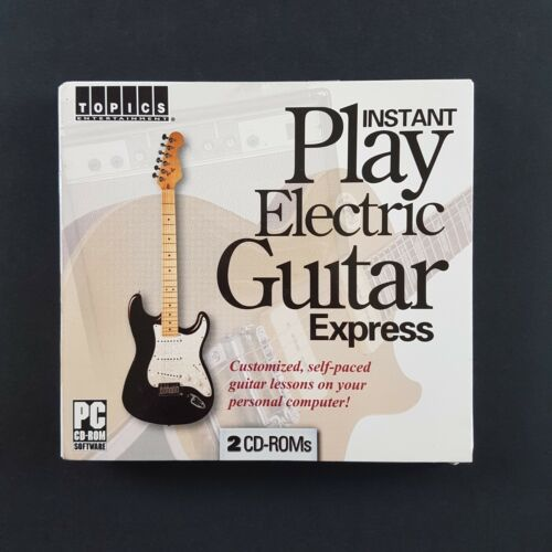 Instant Play Electric Guitar Express (PC CD-ROM, 2005)