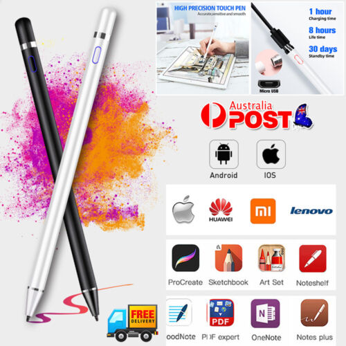Digital Capacitive Active Touch Screen Stylus Pen Pencil For Apple iPad Tablets