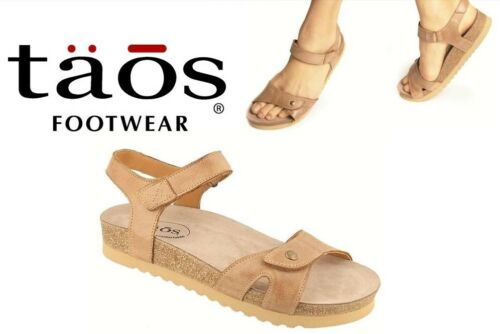 Taos Footwear Luvie Leather comfort footbed Sandals Taos shoes Portugal Luvie