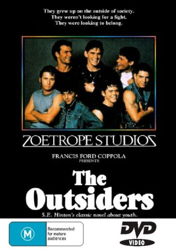 The Outsiders Tom Cruise (All Region Dvd)= Dvd