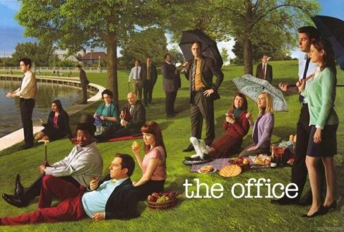 THE OFFICE - APOLOGIES TO SEURAT - TV POSTER - 24x36 - 53111
