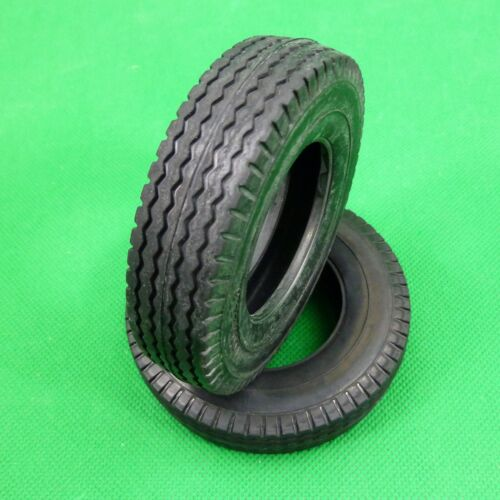 Tyres tires for Tamiya Hercules 1:14 RC Prime Mover Tractor Trailer -Medium