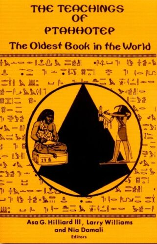 Ancient Egyptian Papyrus Ptahhotep Teachings Wisdom World's Oldest Book 2400BC