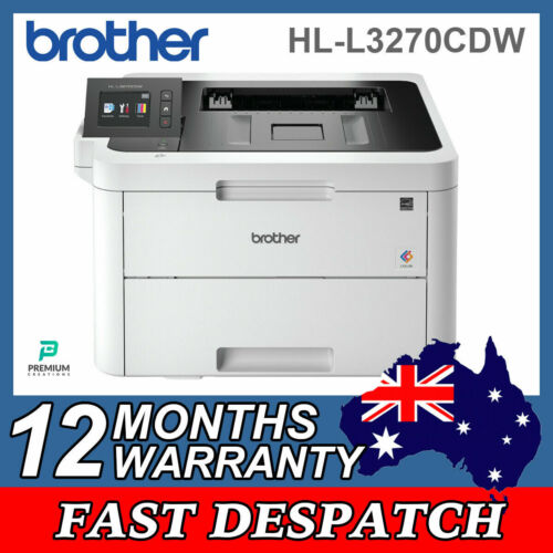 Brother HL-L3270CDW Wireless WiFi Colour LED Laser Printer with Touchscreen LCD