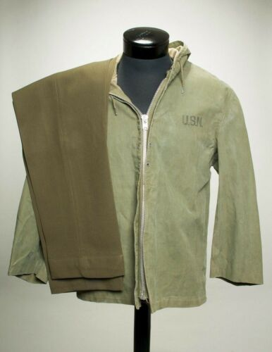 VTG Genuine Green Army Jacket and Pants Size Small Era UnknownArmy - 66529