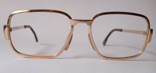 Occhiali MARWITZ vintage 7602 placcato oro. MARWITZ vintage 7602 gold plated.