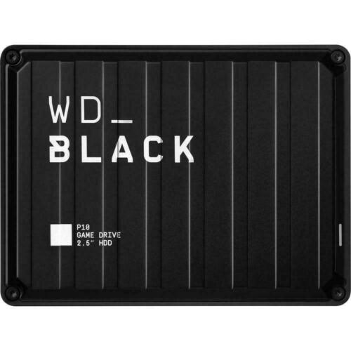 WD BLACK P10 2TB Black USB 3.2 Portable Hard Drive External HDD For PS4 and Xbox