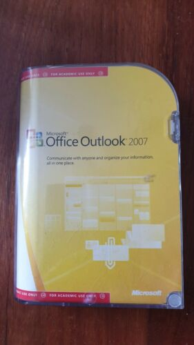 MS Office Outlook 2007 Academic