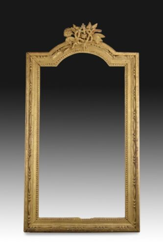 Gilded wood frame. 18th century.